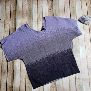 Purple sparkle top